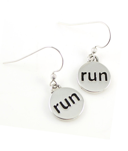 run-earrings