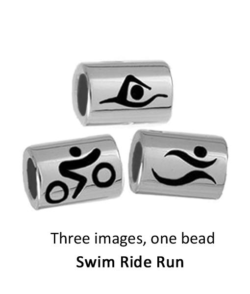 Triathlon Charms